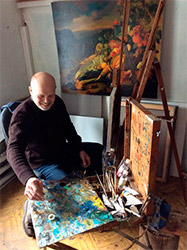 художник Виктор Быков
