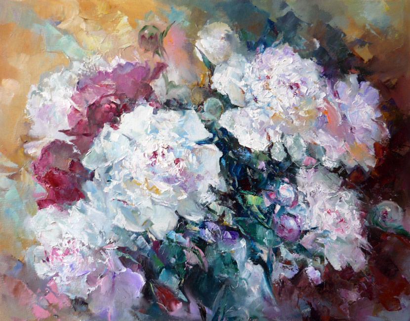 картины  c цветами