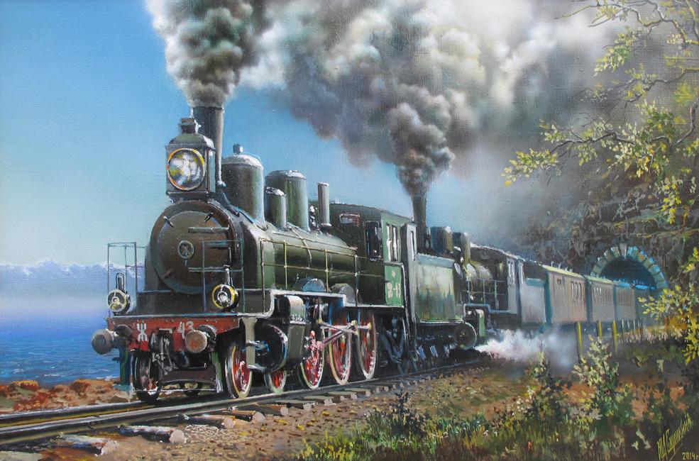 The Circum-Baikal railway