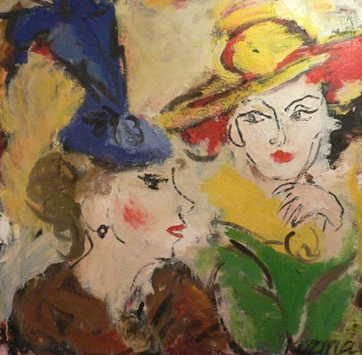 картина Козиной Валерии «Разговор»