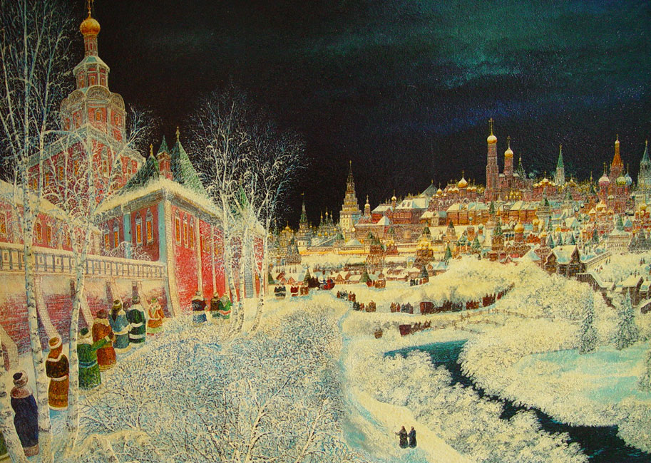 картина  Смирнова Владимир Борисовича  «Спасо-Андроников монастырь »