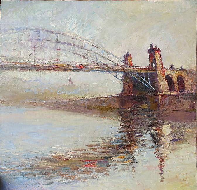 картина Проказова Бориса «Мост»