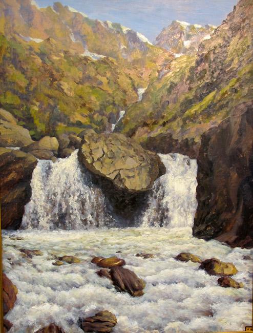 Водопад, Восточные саяны