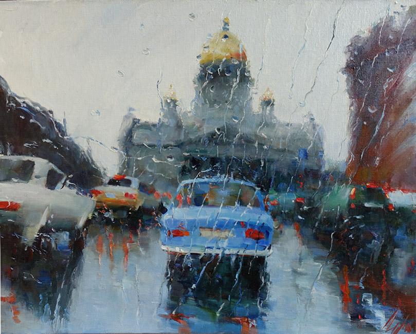 галерея картин пейзажей Санкт-Петербурга
