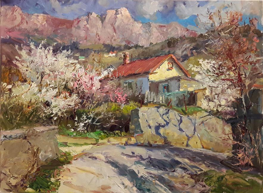 Апрель в Крыму