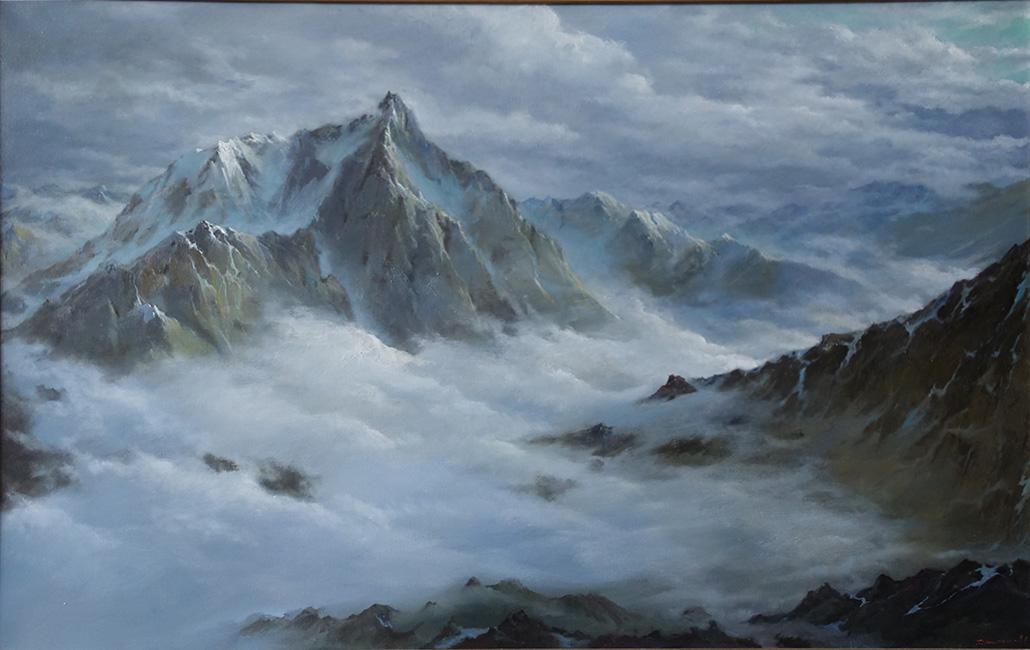 галерея картин  с  горными пейзажами