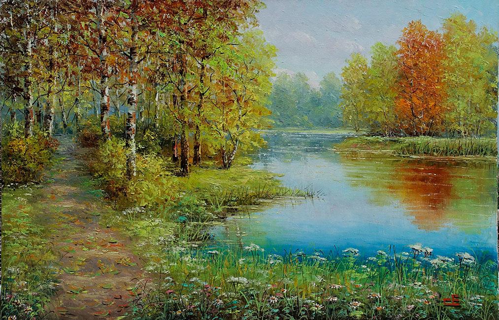 галерея картин сельских пейзажей