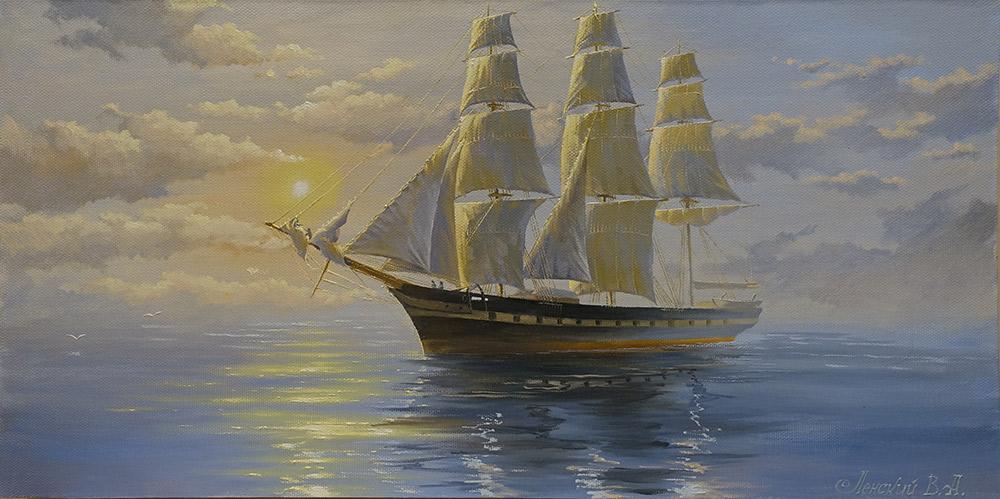 галерея картин с морской тематикой