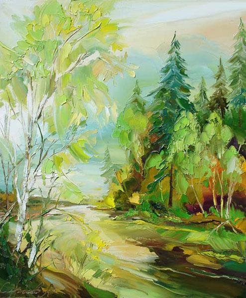 картина Сергеева Александра «Лето»