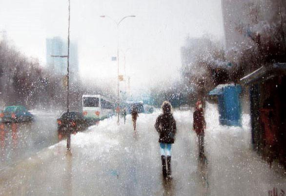 картина Медведев Игорь«Проспект»