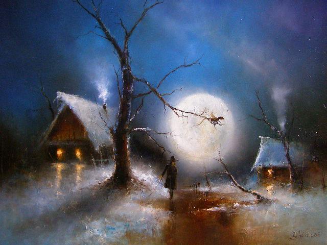 картина Медведева Игоря «Театр Луны»
