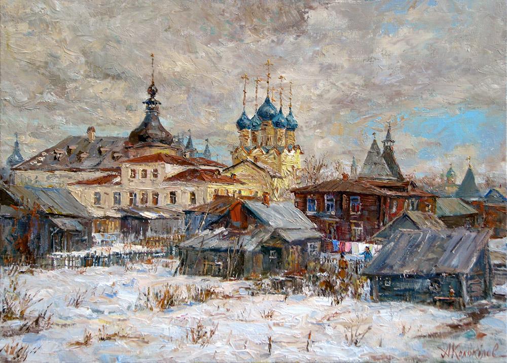 Март в Ростове-Великом