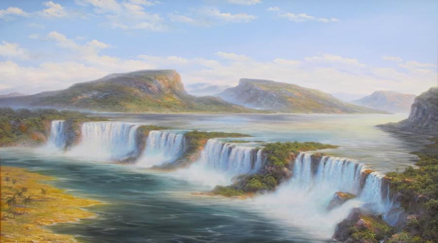 Амазония, Водопад Канайма