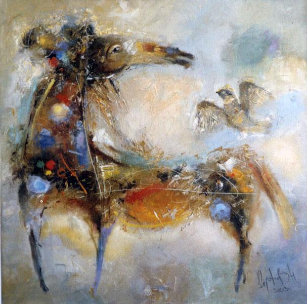 Лошадка, художник Широков Николай