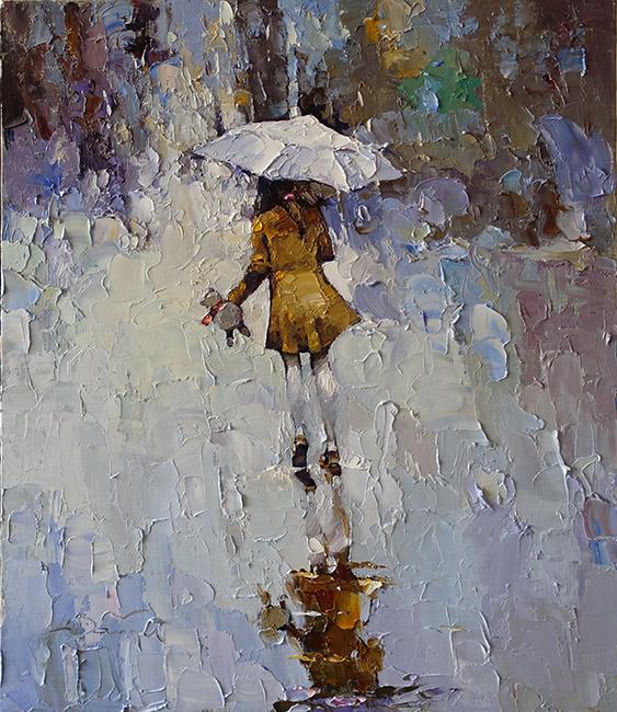 Пейзаж с дождеми