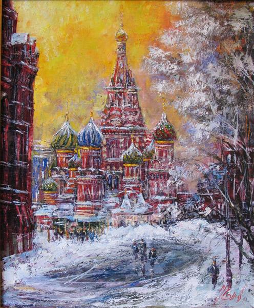 Московский пкйзаж