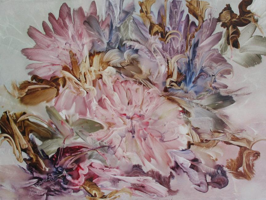 Цветы, художник Захаров Евгений