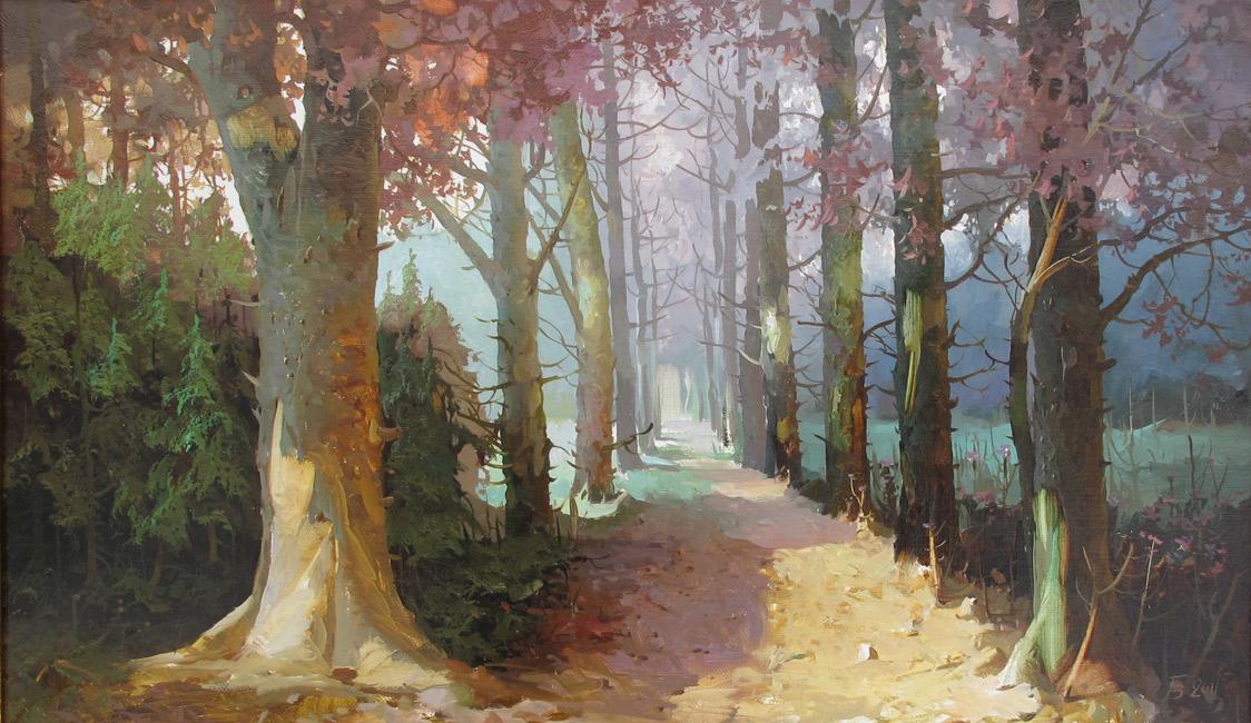 картина Быкова Виктора «Аллея»