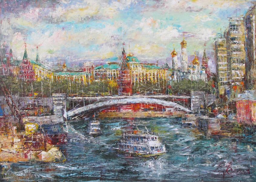 Кремль, художник Еникеев Юнис