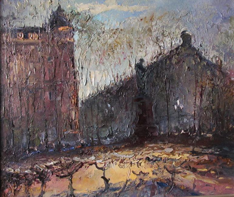 Пушкинская площадь в городе Москве