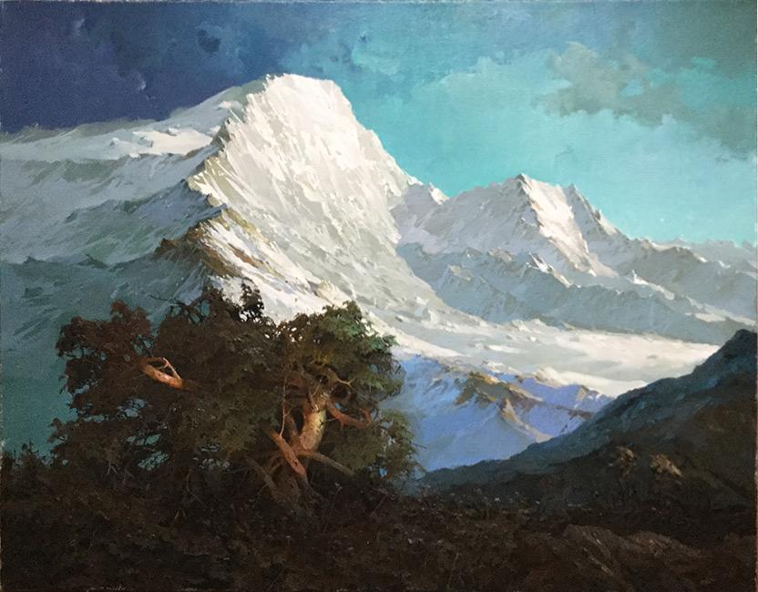 картина Быкова Виктора «Горы Кавказа»