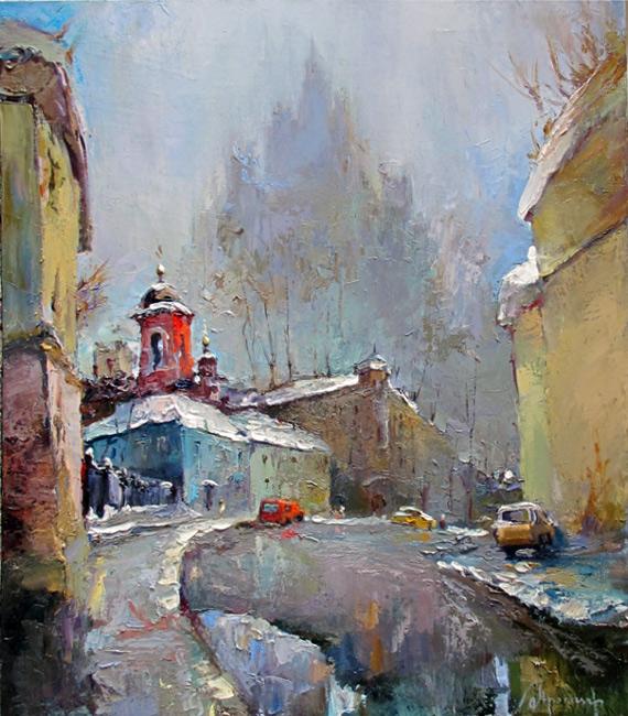 Ивановский переулок в москве