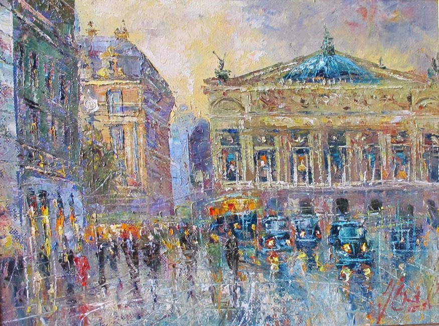 Париж в картинах