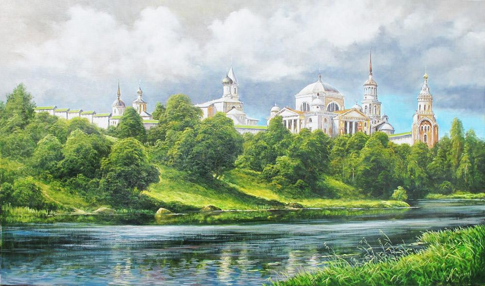 художник  Стрелков Александр,  Дворец