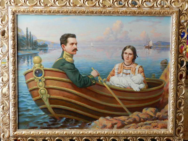 Портрет  в качестве подарка на свадьбу